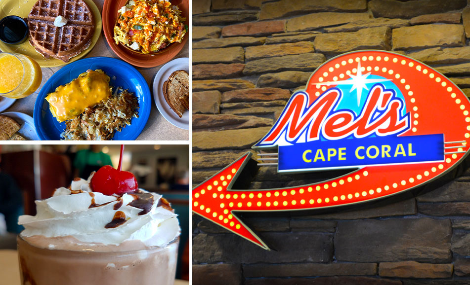 Cape Coral Food Collage | Mel's Diner - Southwest Florida's Classic American Diner