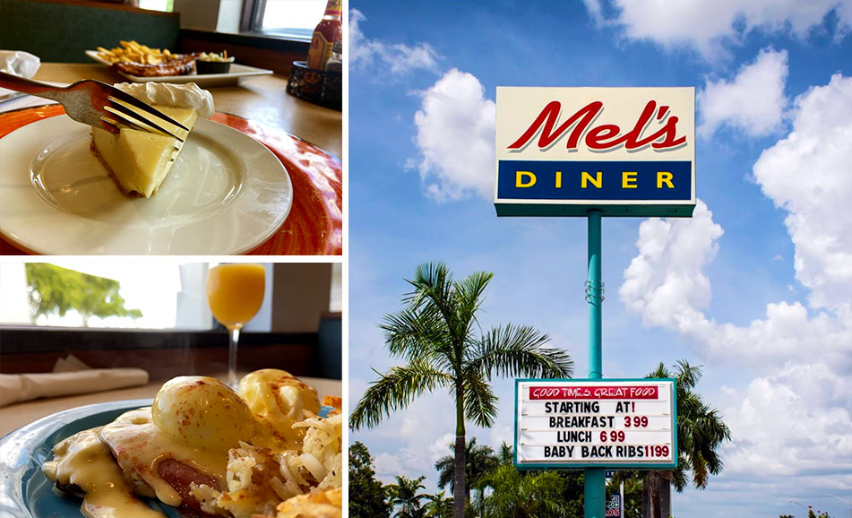 Fort Myers Lunch Collage | Mel's Diner - Southwest Florida's Classic American Diner