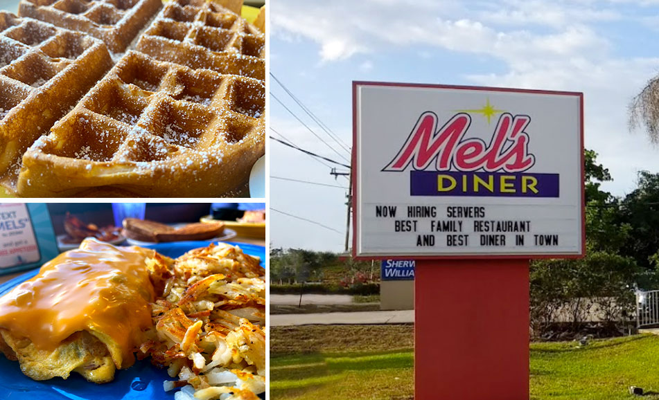 Golden Gate Food Collage | Mel's Diner - Southwest Florida's Classic American Diner