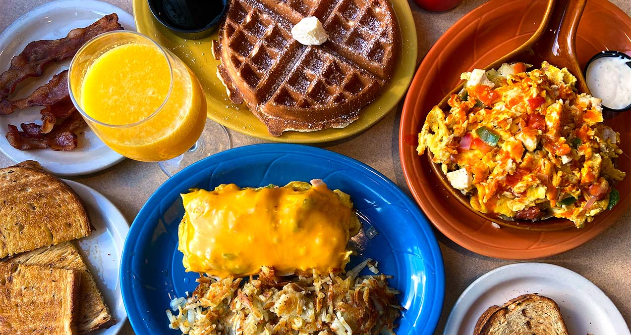 Loyalty Program Breakfast | Mel's Diner - Southwest Florida's Classic American Diner