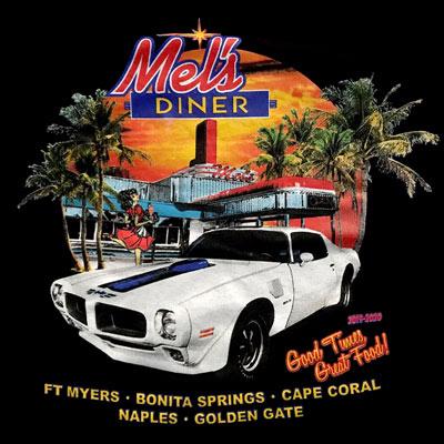 2020 Shirt Design | Mel's Diner - Southwest Florida's Classic American Diner