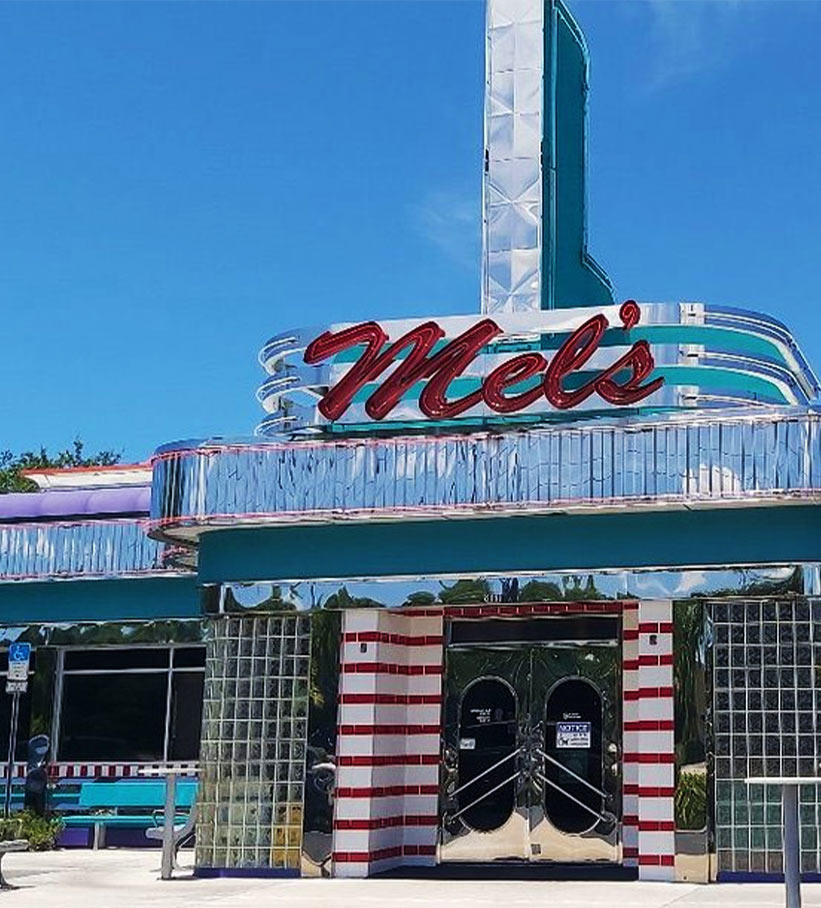 Exterior | Mel's Diner - Southwest Florida's Classic American Diner