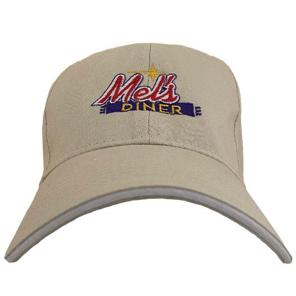 Mel's Diner Beige Hat | Mel's Diner - Southwest Florida's Classic American Diner