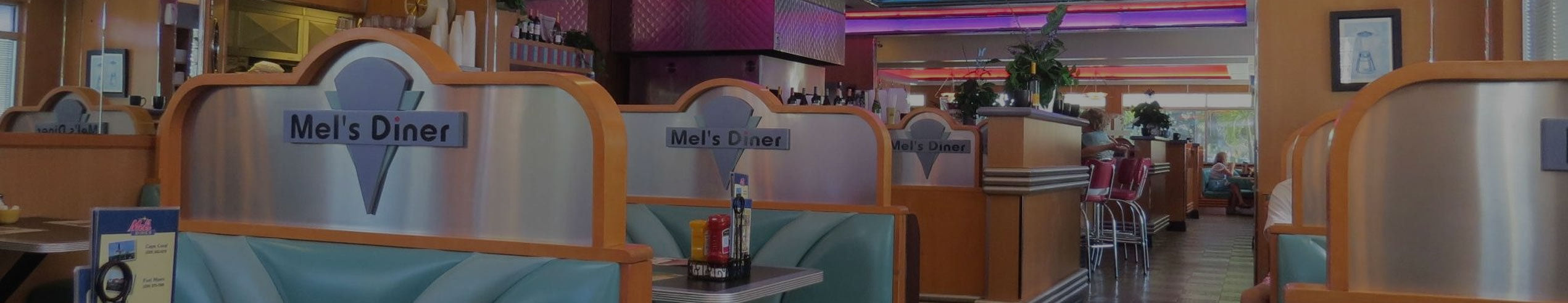 Interior of Bonita Springs Location | Mel's Diner - Southwest Florida's Classic American Diner