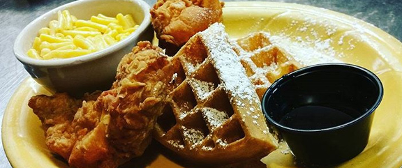 Chicken and Waffles | Mel's Diner - Southwest Florida's Classic American Diner