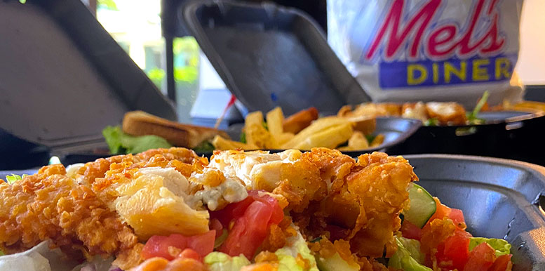 Delivery and Pickup | Mel's Diner - Southwest Florida's Classic American Diner