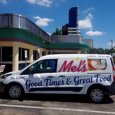 Mel's Delivery | Mel's Diner - Southwest Florida's Classic American Diner