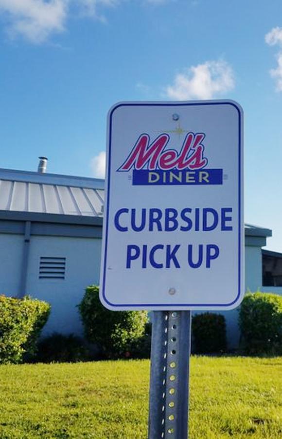 Curbside Pickup | Mel's Diner - Southwest Florida's Classic American Diner