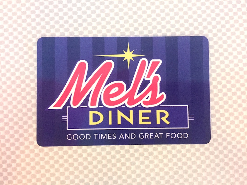 Gift Card | Mel's Diner - Southwest Florida's Classic American Diner